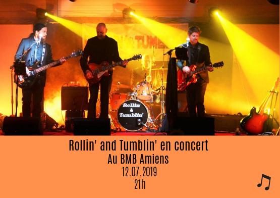 Rollin' and Tumblin' en concert 