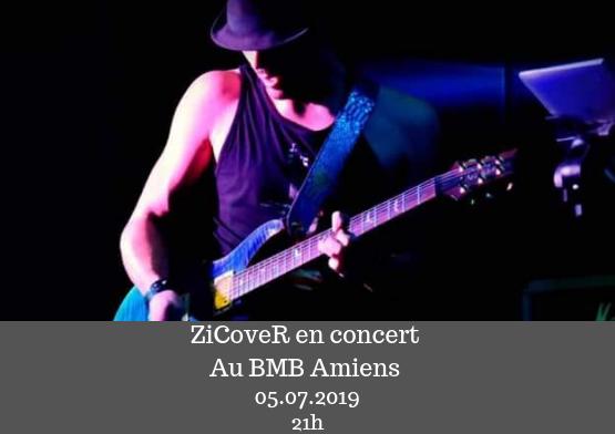 Concert RoCK ZiCoveR au BMB Amiens 